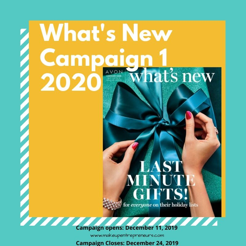 Avon What's New Campaign 1 2020