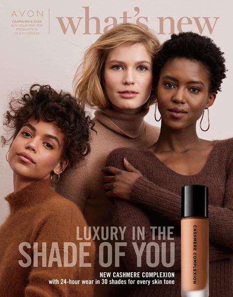 Avon What's New Campaign 8 2020 Makeup Entrepreneurs