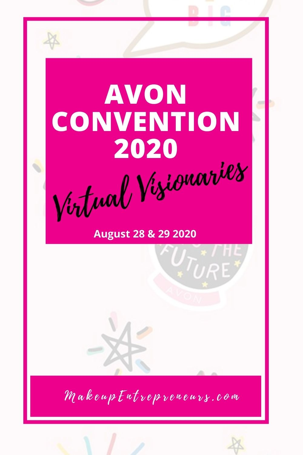 Avon Convention 2020 Virtual Visionaries