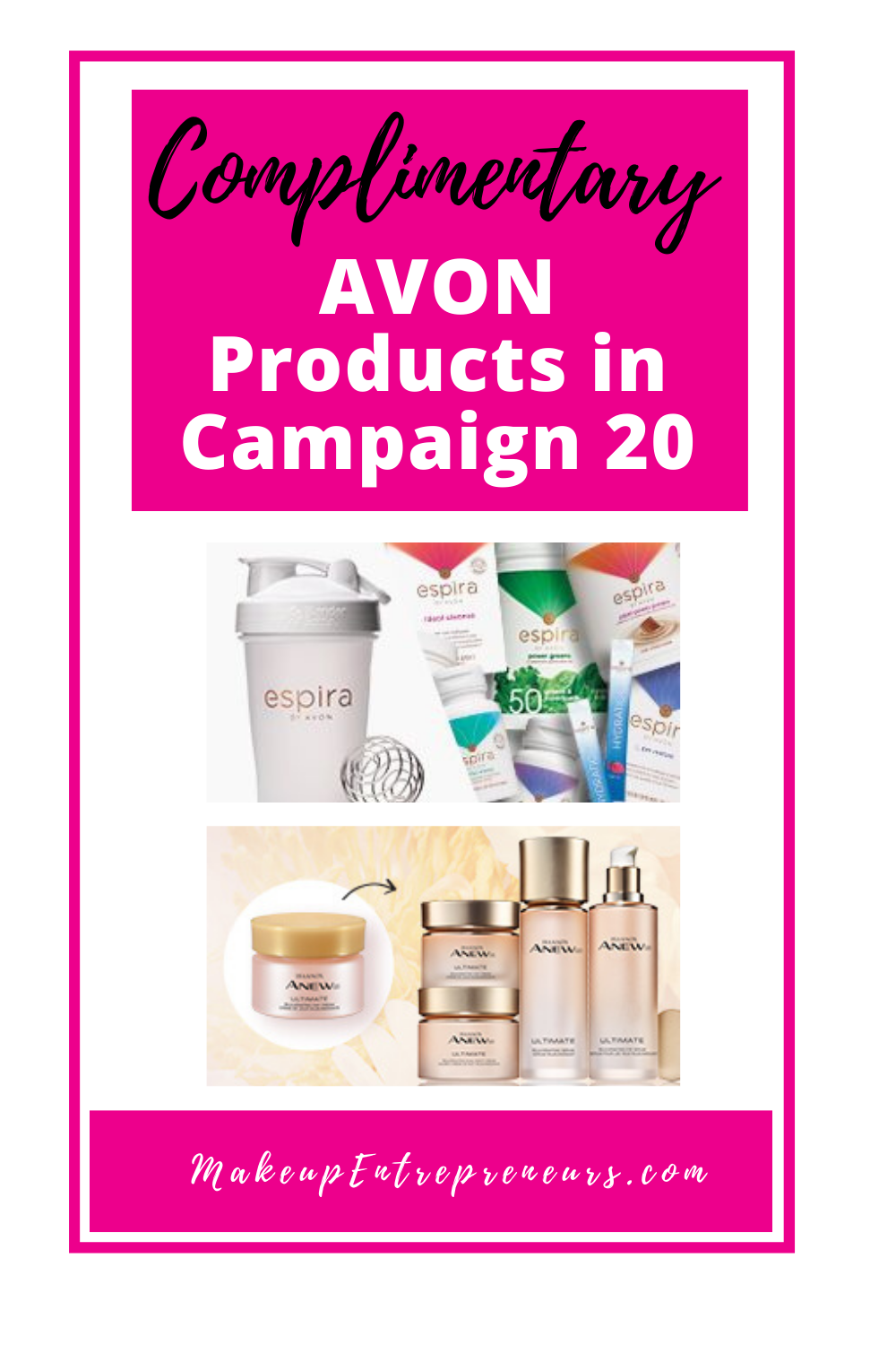 Complimentary Avon Products in Campaign 20 2020