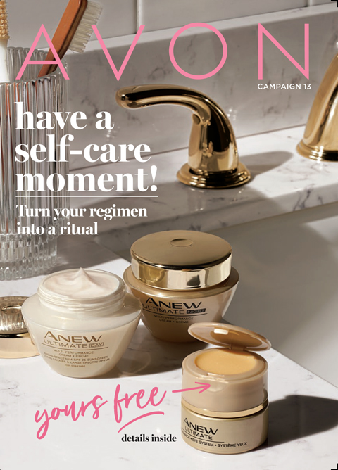 Avon Camapign 13 2019 Have a self-care moment!